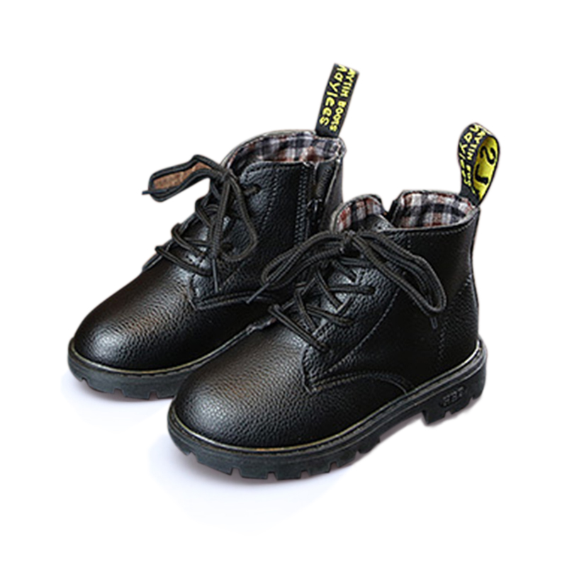 Toddler Boy / Girl Casual Solid Side Zipper Boots (Various colors)