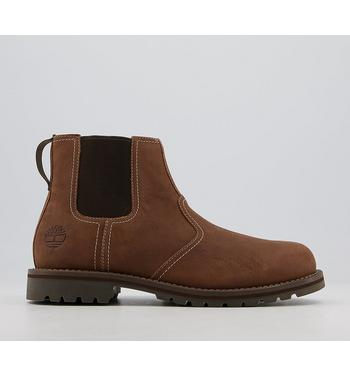 Timberland Larchmont Chelsea Boots MID BROWN